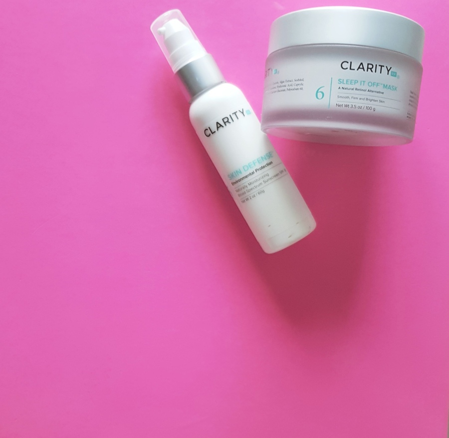 Skincare Review: Clarity Rx Sleep It Off and Skin Defense