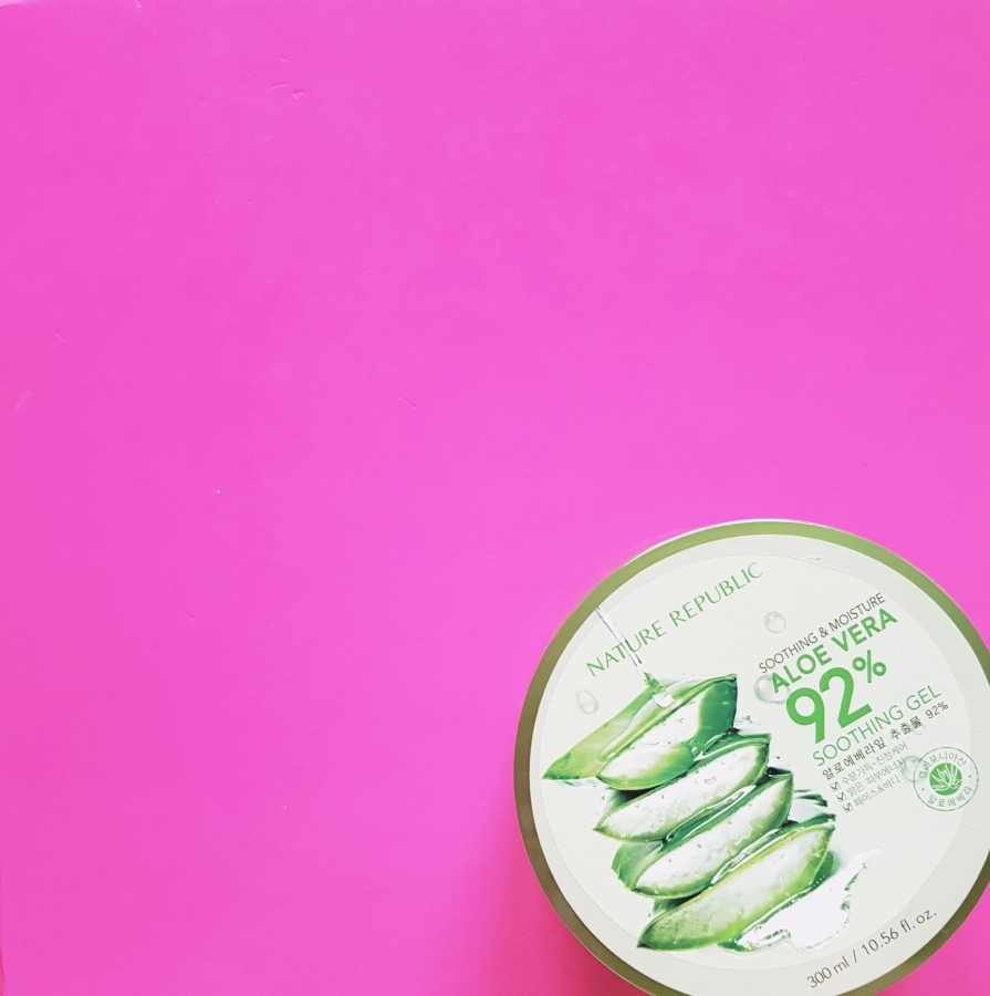 Cult Favorite: Nature Republic Soothing and Moisture Aloe Vera 92% SoothingGel