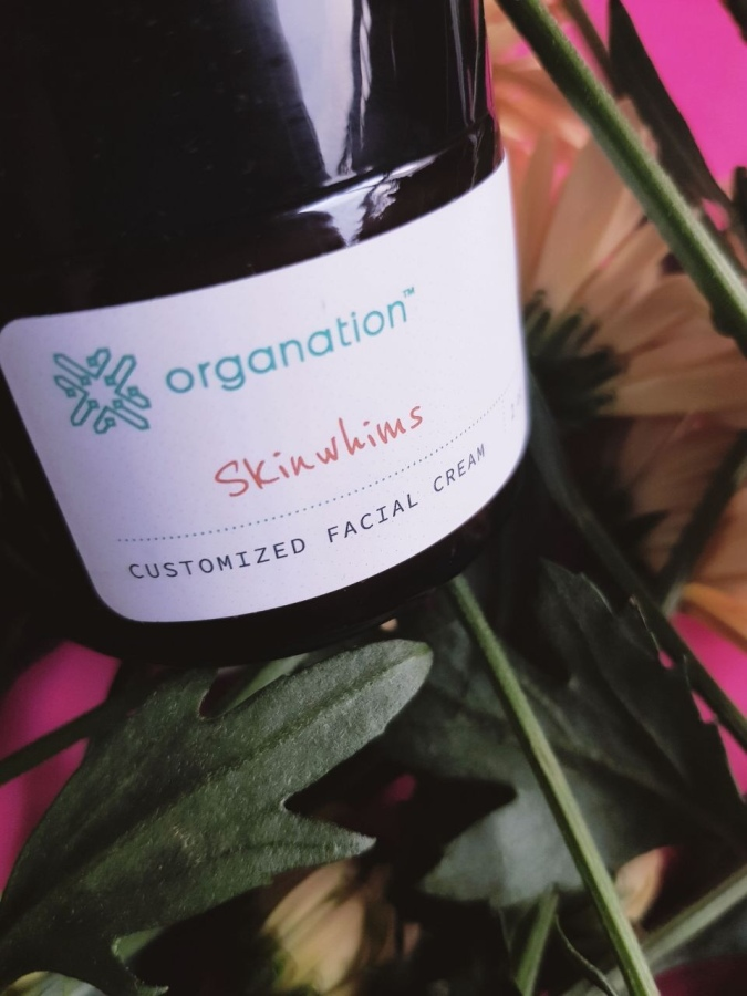 Skincare Review: Organation Personalized Face Cream