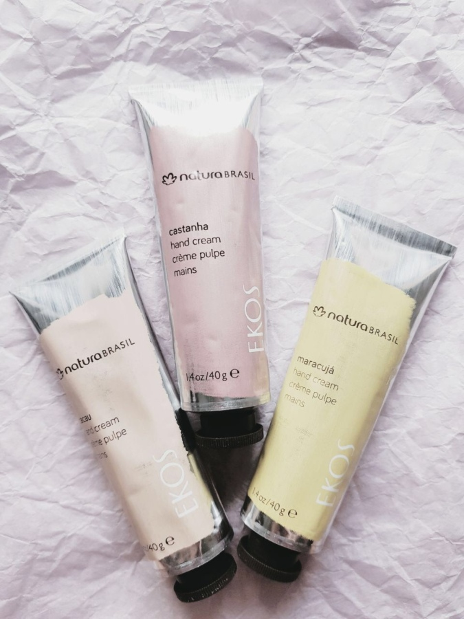 Holiday Kit 2018: NaturaBrasil Hand Cream Trio