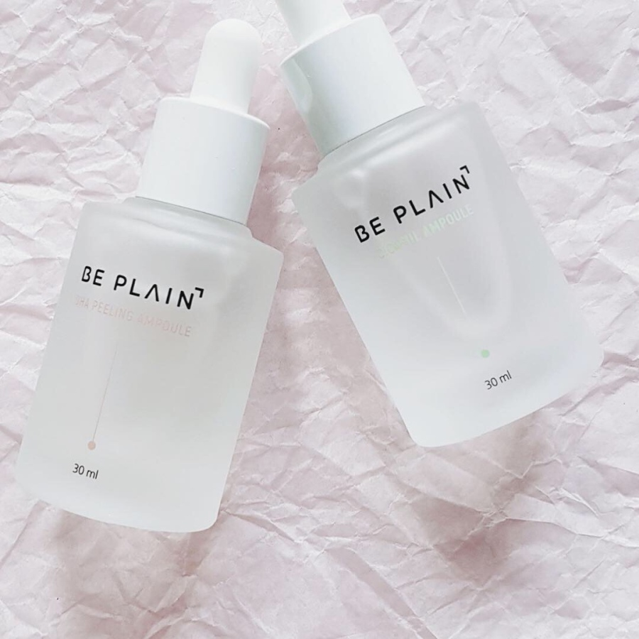 Skincare Review: Be Plain Cicaful Ampoule and BHA Peeling Ampoule