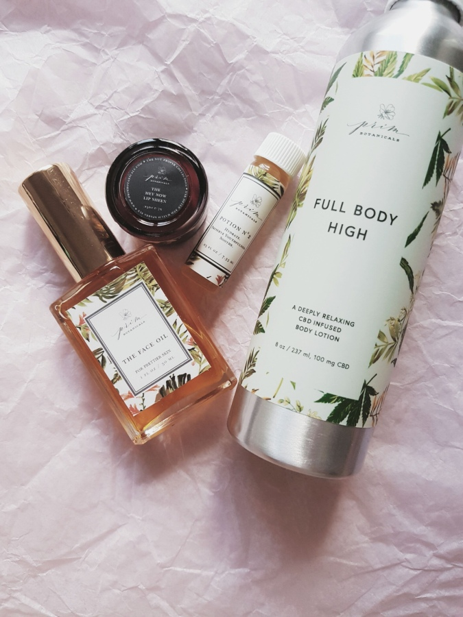 Brand Overview: Prim Botanicals The Face Oil, Potion N°2, and Hey Now Lip Sheen