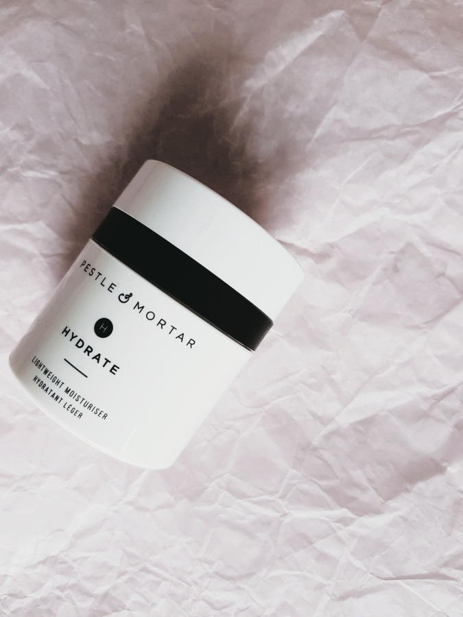 Skincare Review: The Pestle & Mortar Hydrate Moisturizer