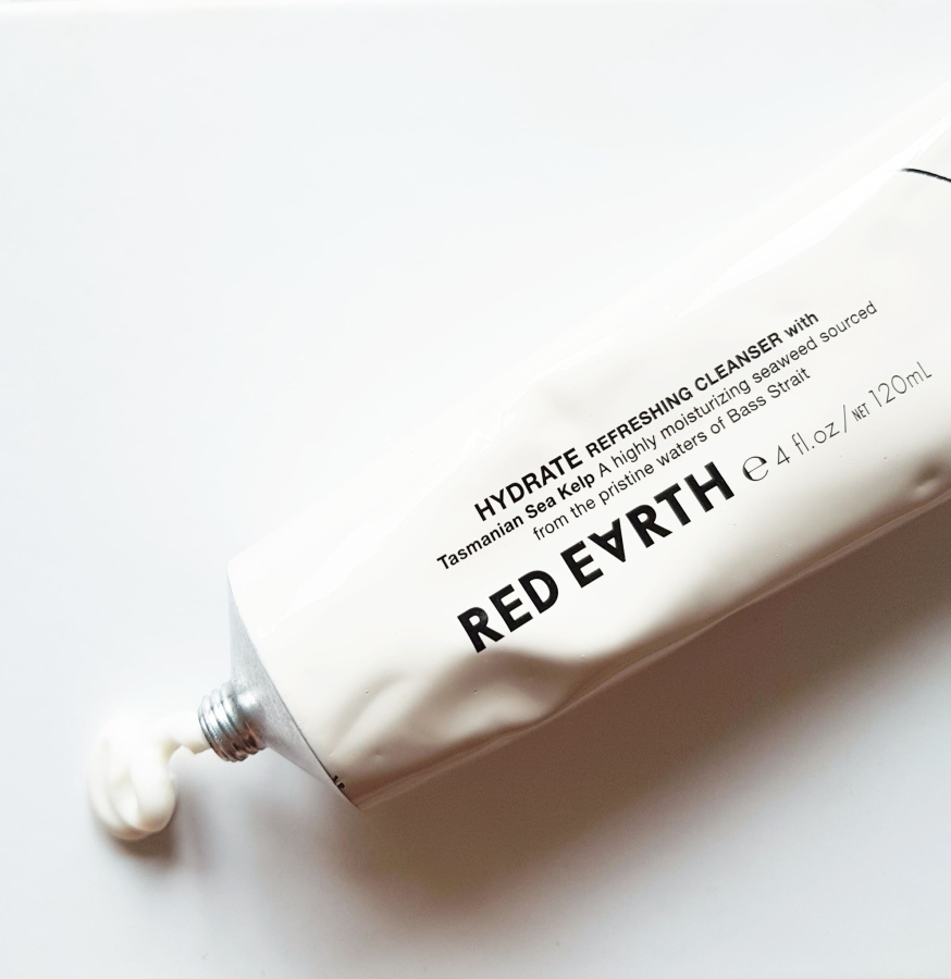 Skincare Review: Red Earth Hydrate Refreshing Cleanser with Tasmanian Sea Kelp