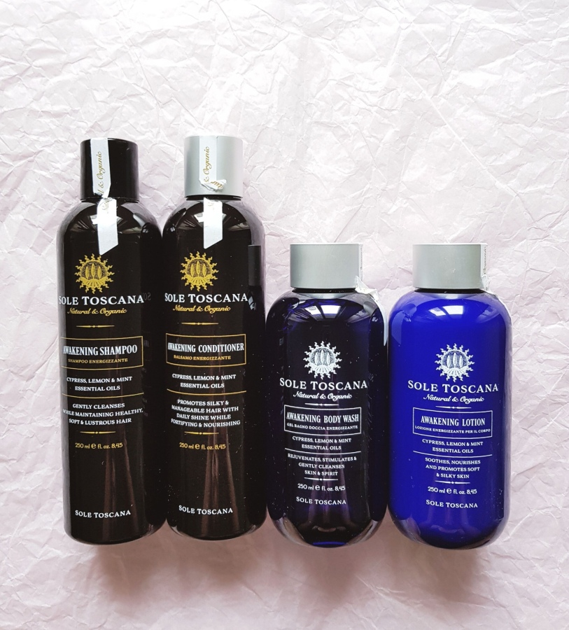 Bodycare Review: Sole Toscana Organic Awakening Gift Set