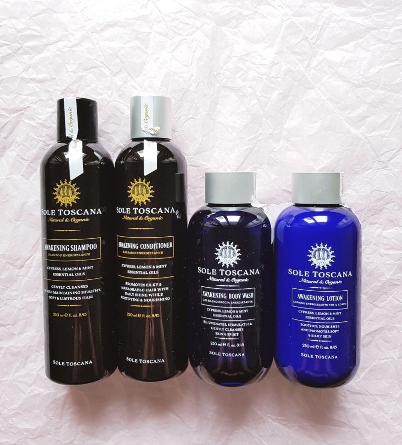 Bodycare Review: Sole Toscana Organic Awakening GiftSet