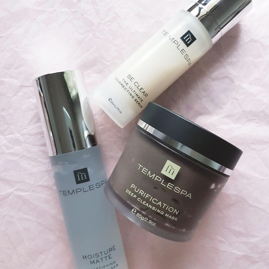 Skincare Review: Temple Spa Purification, Be Clear, MoistureMatte