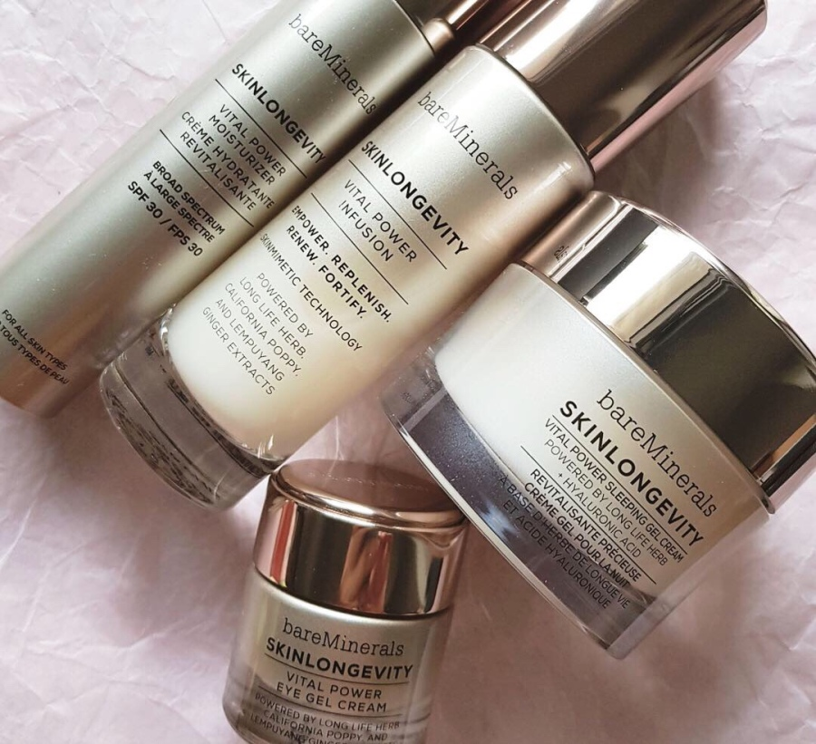 Skincare Review: bareMinerals SkinLongevity Vital Power Range