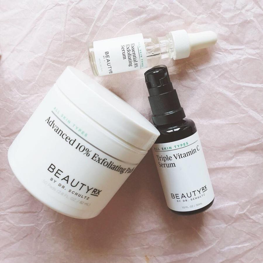 Skincare Review: BeautyRx Progressive Peel System Starter Kit and the Triple Vitamin CSerum