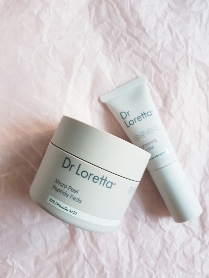 Skincare Review: Dr. Loretta Micro Peel Peptide Pads and Tightening Eye Gel