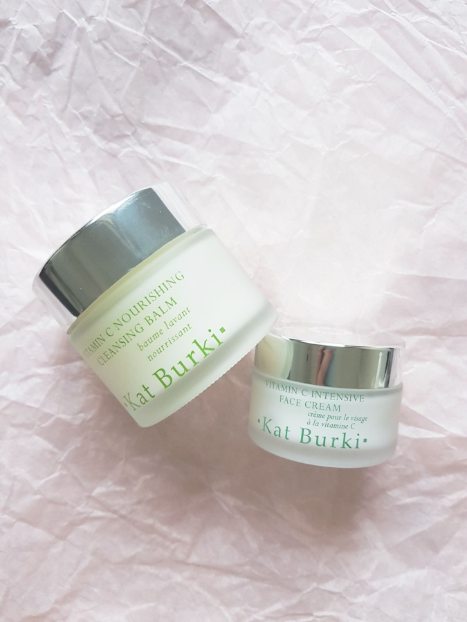 Skincare Review: Kat Burki Vitamin C Nourishing Cleansing Balm and Vitamin C Intensive Face Cream