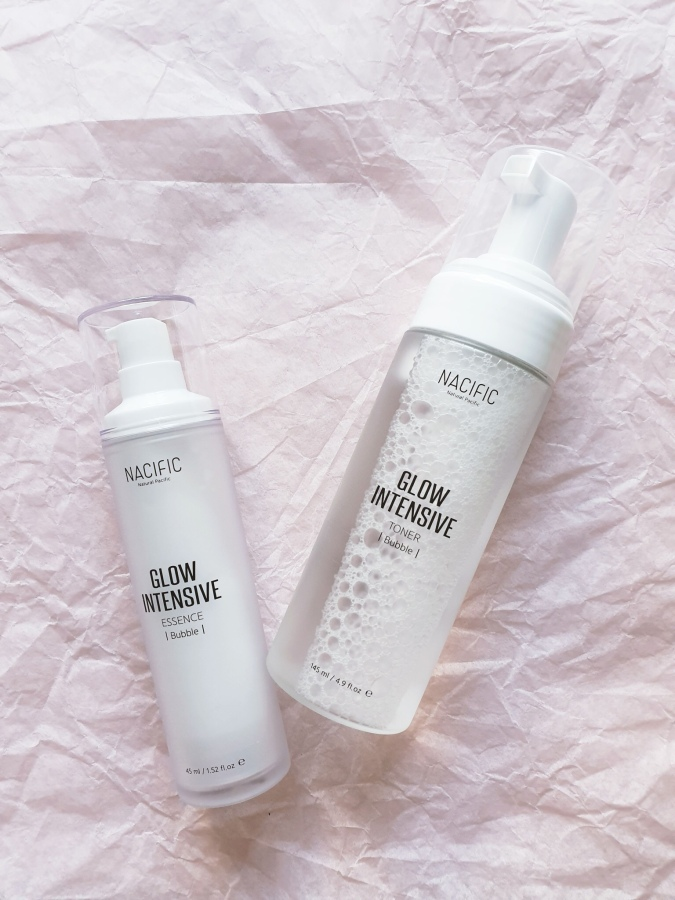 Skincare Review: Nacific Glow Intensive Bubble Toner and Essence