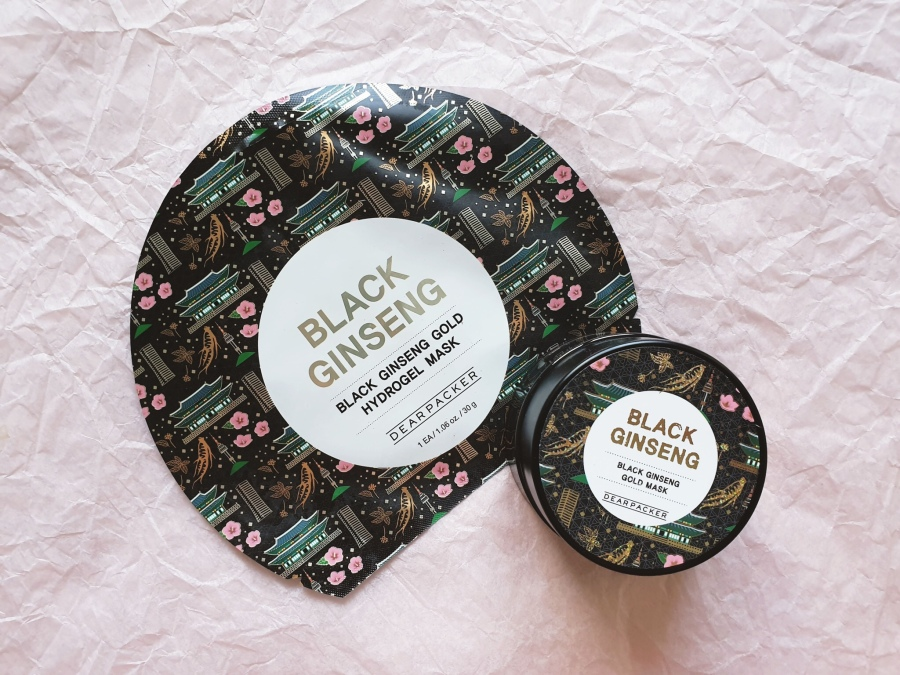 Skincare Review: Dear Packer Black Ginseng Gold Mask and Hydrogel Mask
