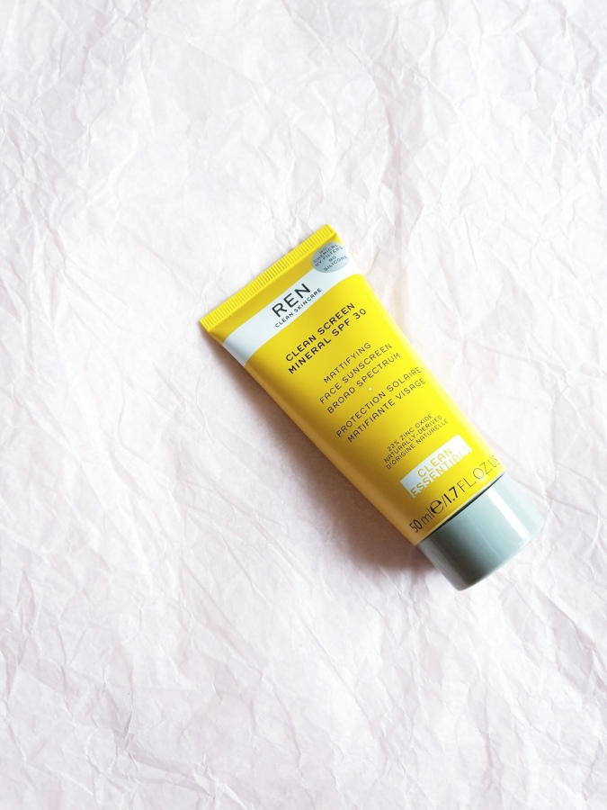 Skincare Review: Ren Clean Skincare Clean Screen Mineral SPF 30