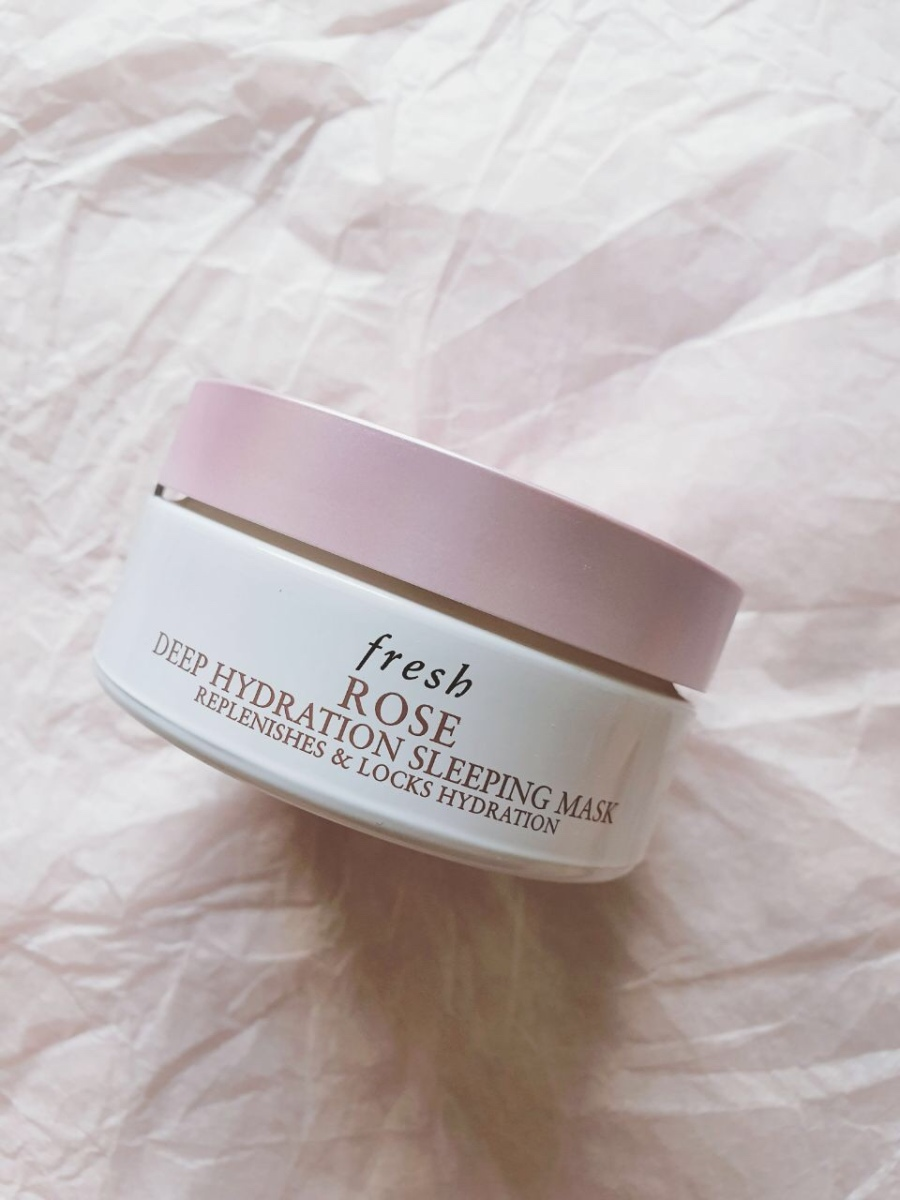 Skincare Review: Fresh Rose Deep Hydration Sleeping Mask