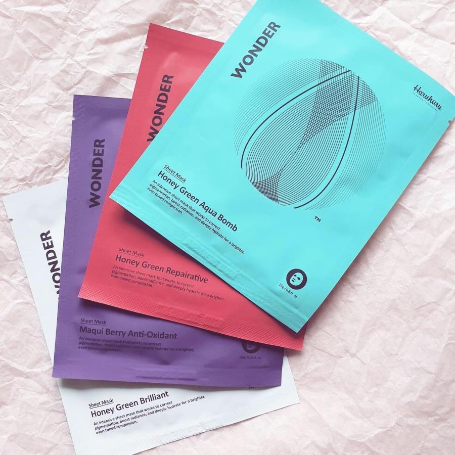 Skincare Review: Haruharu Wonder Starter Kit and Honey Green Aqua BombCream