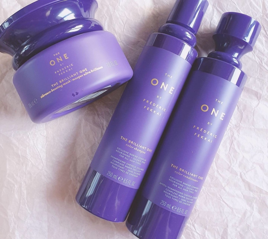 Haircare Review: The One by Fekkai The Brilliant One Color Shampoo, Color Conditioner, and Vibrance-Boosting Mask
