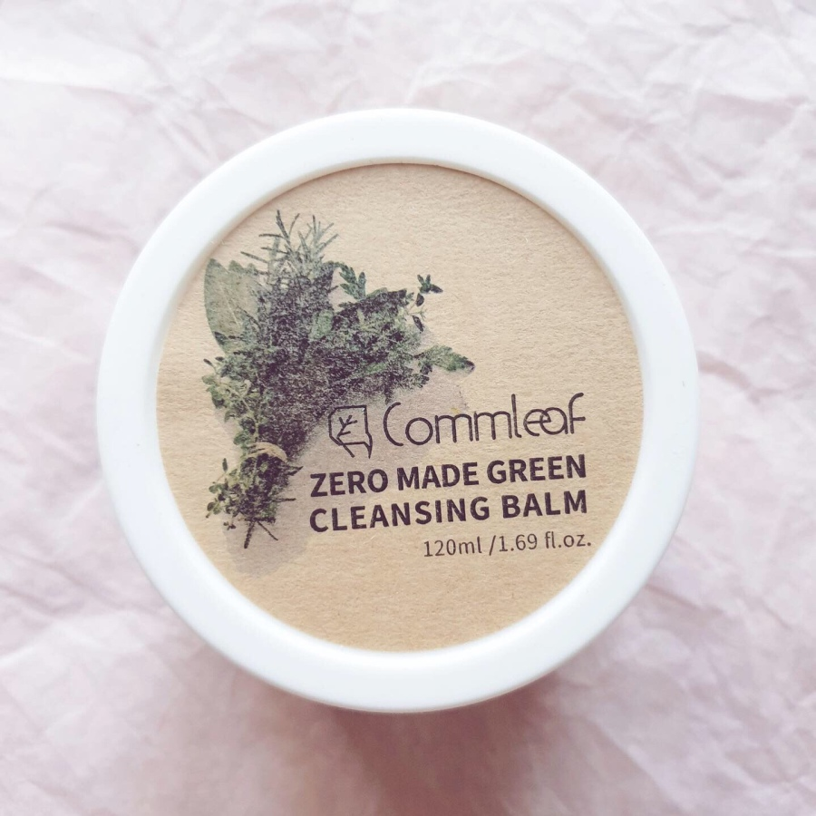 Skincare Review: Commleaf Zero Made Green Cleansing Balm