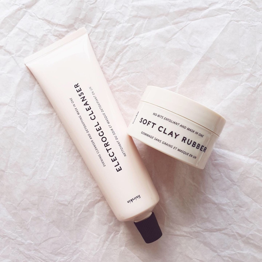 Skincare Review: Lixirskin Electrogel Cleanser and Soft ClayRubber