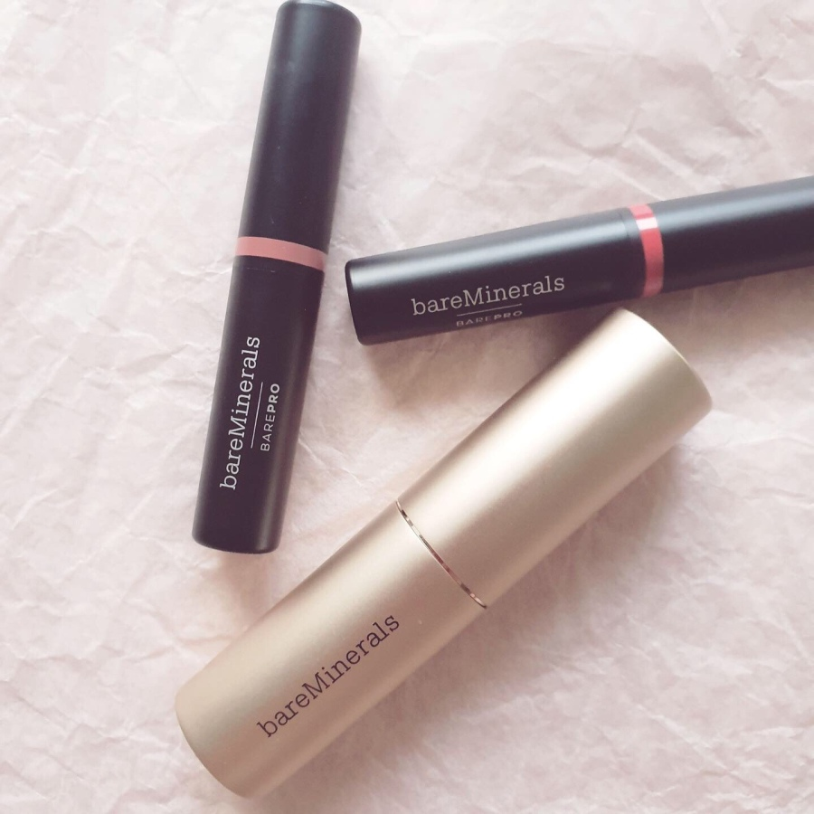 Makeup Review: BareMinerals Complexion Rescue Hydrating Foundation Stick SPF 25 and BarePro Longwear Lipstick