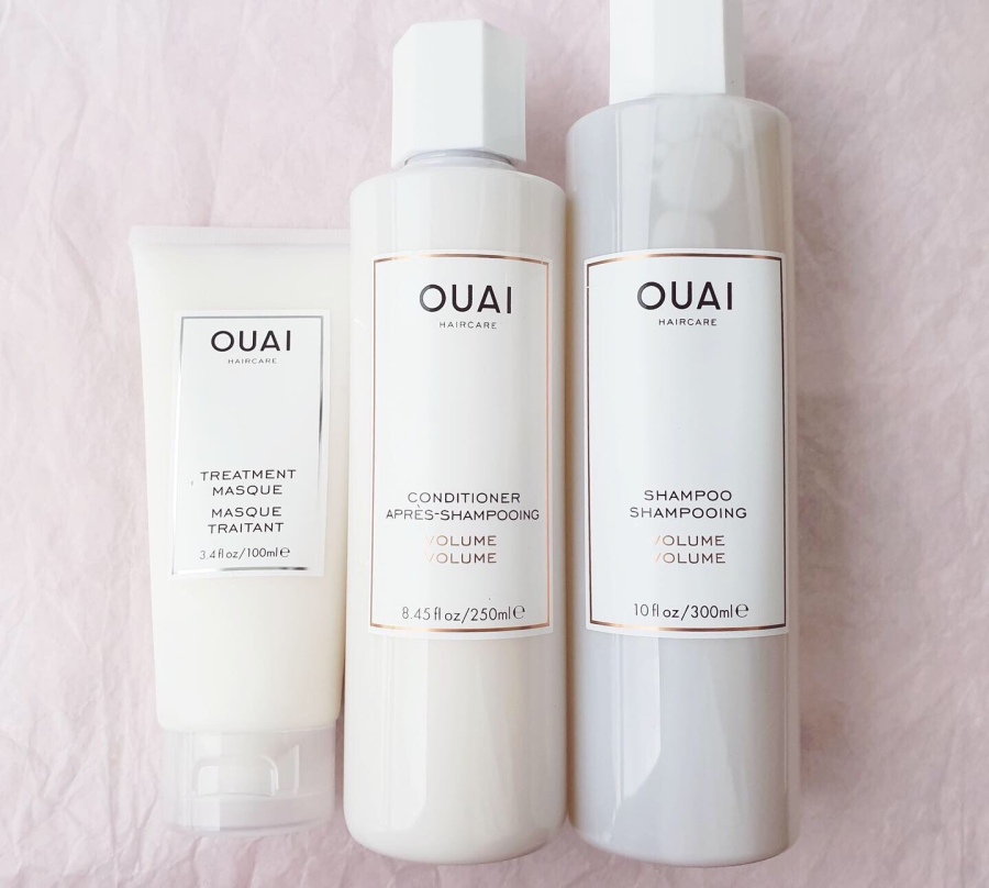 Haircare Review: Ouai Volume Shampoo and Conditioner and Treatment Masque