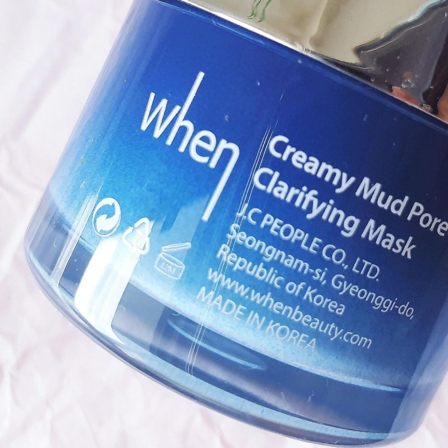 Skincare Review: When Creamy Mud Pore Clarifying and Minimizing Face Mask